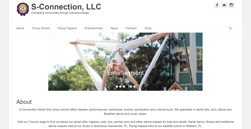 sconnection website screenshot